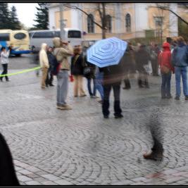 Flashmobe v Tampere 2009 – Finsko