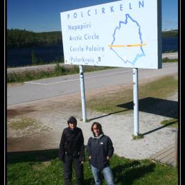 Překročení polárního kruhu – Švédsko