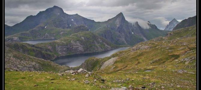 Hermansdalstinden a Munkebu kabine – Lofoty – Norsko