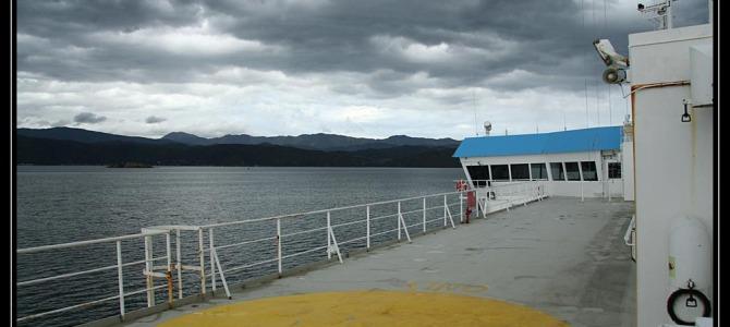 Trajekt na jižní ostrov a návštěva Ondry – Nový Zéland