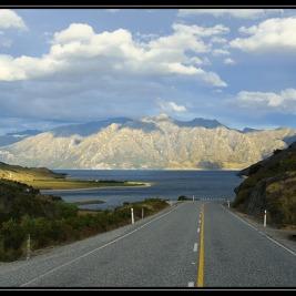 Copland a přesun ke Qeenstown – Nový Zéland