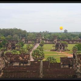 Angkor v Siem Reapu – Kambodža