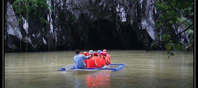 Sabang – podzemní řeka – Filipíny