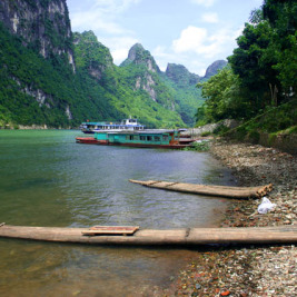 Čína den XI. Cesta po řece
