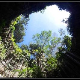 Cenote Ik Kil a Noches de Kukulkan – Chichen Itza Mexiko