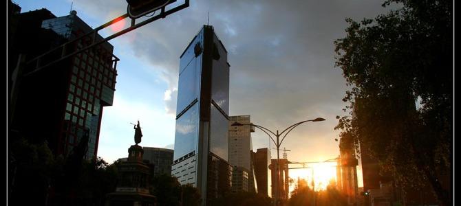 Mexico City ve dne pěšky i metrem