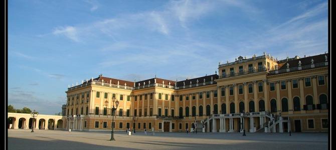 Výlet na Schönbrunn – Vídeň