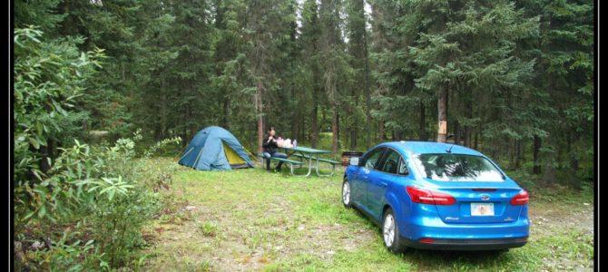 Jedeme do Denali z Anchorage autem za 800USD na týden – cestopis Aljaška den VIII.