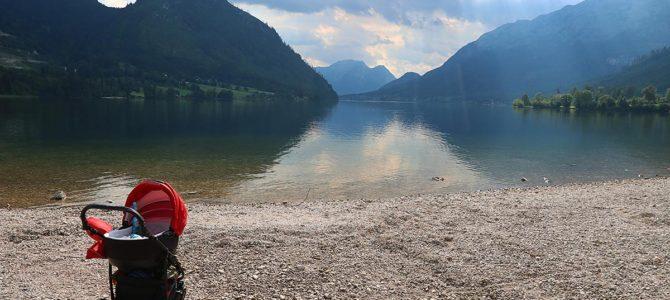 Koupání v jezeře Grundlesee – den 6.